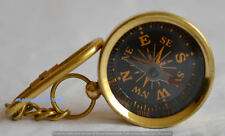 Brass Collectable Compass Hiking Compass Nautical KeyChain Marine Compas