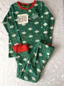 Little Green Radicals  100% Organic Cotton Boy's   Pyjama Set (2-3 Years)