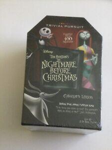 Disney Tim Burton's The Nightmare Before Christmas Trivial Pursuit Coll. Edition