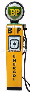 LIFE SIZE VINTAGE RETRO BP ENERGOL GAS PETROL PUMP MAN CAVE WALL ART CANVAS 6FT