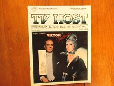 May, 1983 Pa. TV Host Magazine(JULIE  ANDREWS/VICTOR  VICTORIA)