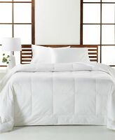 NEW Hotel Collection White Down Medium Weight KING Comforter $620 I170