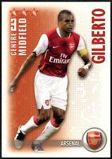 Gilberto Arsenal Shoot Out 2006-7 Boîte Magique Football Trade Card (C1293)