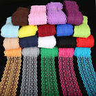 10 Yard Bilateral Handicrafts Embroidered Net Lace Trim Ribbon Bow Sewing Crafts