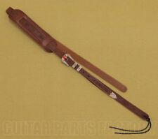 922-0022-000 Gretsch Cowboy G6332 Guitar Strap Tooled Leather Walnut