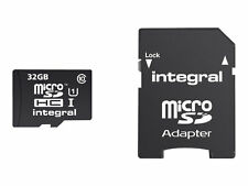 Integral UltimaPro 32gb Class 10 Micro SDHC Memory Card With Adapter