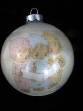 1975 Hallmark Christmas Ornament - Betsey Clark Glass Ball - Christmas -Carolers