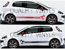 Fiat punto abarth scorpion side racing stripes decals graphic stickers RS48
