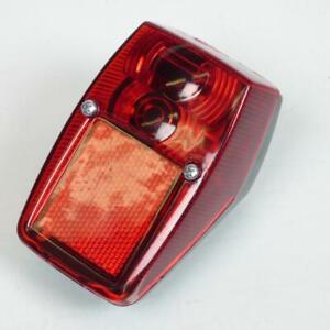 Fanale Illuminazione Stop Posteriore Rosso Replay Per Moto Peugeot 103 MVL Nuovo