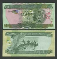 SOLOMON ISLANDS  $2  2004  P25  Uncirculated   Banknotes