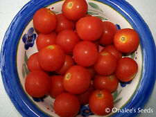 40+ Tommy Toe Heirloom Cherry Salad Tomato Seeds vegetable garden. Flavorful!