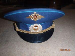 Vintage Russian Military Hat Cap Pilot Officer. Original  Russia