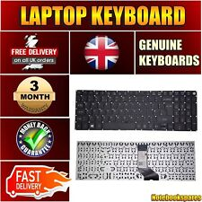 NEU Acer E5-573 lapotp Tastatur LV5T_A50B, NSK-RE0SQ 0U UK Layout Schwarz ohne Rahmen