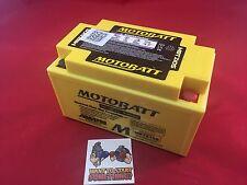 Motobatt AGM Battery For Honda CB500X, F 500 2013 YTX7ABS YTZ10S  140 CCA