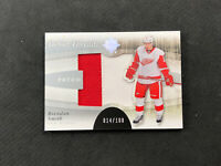 2011-12 UPPER DECK ULTIMATE BRENDAN SMITH ROOKIE DEBUT THREADS PATCH #ed 14/100