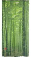 JAPANESE Noren Curtain Chikurin Bamboo Grove Made in JAPAN 85 x 170cm