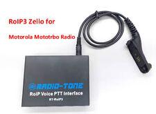 Radio-tone over-IP Zello,Real PTT, Azatti RT-RoIP3 for Motorola Mototrbo Radio