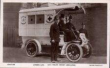 London Life. City Police Motor Ambulance by Rotary # 10513-29.