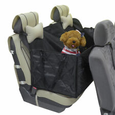 Black Waterproof Car Dog Back Seat Cover Hammock Pet Truck Mat Travel For Chevy