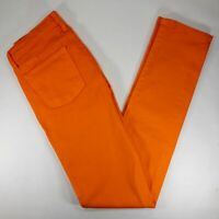 JUDY BLUE - ORANGE Colored Denim Skinny LOW RISE Stretch Jeans - NEW!