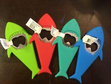 "Silicone Shark Bottle Opener 5"""