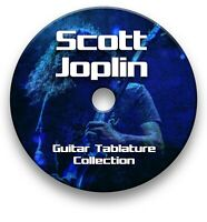SCOTT JOPLIN RAGTIME GUITAR TAB TABLATURE SONG BOOK TUITION SOFTWARE CD