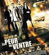 Bande annonce cinéma 35mm 2006 Peur au ventre W Kramer P Walker Cameron Bright