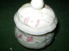 VILLEROY AND BOCH RIVIERA SUGAR BOWL WITH LID