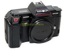 Minolta Maxxum 5000 AF. Reflex autofocus a pellicola, ottime condizioni.