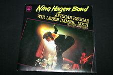 "NINA HAGEN BAND   SP 45T 7""   AFRICAN REGGAE   1980"