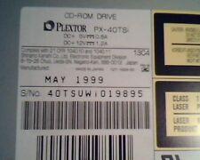 Plextor PX-40TSi CD-ROM Drive May1999 0001 UltraPlex Wide SCSI E132064
