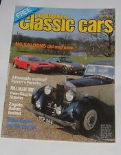 THOROUGHBRED & CLASSIC CARS JUNE 1982 - MG SALOONS OLD AND NEW