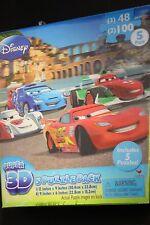 Disney Princesses Super 3D Jigsaw 5 Puzzle Pack including CARS