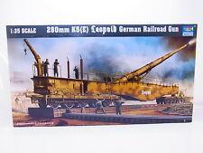 Interhobby 43546 Trumpeter 00207 280mm Leopold German Gun 1:35 Bausatz NEU OVP