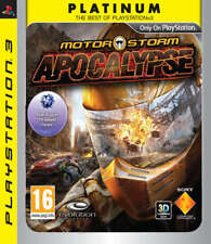 Play Station 3 Motorstorm Apocalypse Rated PG PLATINUM PS3 Game DISC ONLY