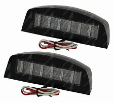 LED Trailer Lights Number Plate Lamps 12V ADR App Truck Caravan Submersible Pair