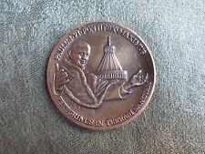 Paul VI -- 1964 -- Holy Land Pilgrimage -- Bronze Medal -- Catholic / Religious