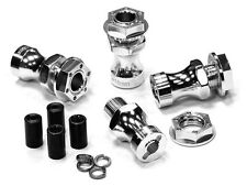 Integy Aluminum 17mm Hex Wheel Hub (4) +18mm Offset for Traxxas 1/10 T-Maxx/Revo