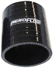 """Aeroflow AF9201-300 Silicone Hose Str Black I.D 3.00"""" 76mm x 75mm"""