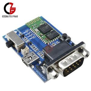 RS232 Bluetooth Serial Adapter Communication Master-Slave Module Kit 5V Mini USB