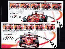 Gibraltar 2004 gestempelt Kleinbogen Satz MNr. 1105-1110  Ferrari-Formel-1