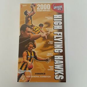 AFL Hawthorn HIGH FLYING HAWKS 2000 Season Highlights VHS Tape AFV 256