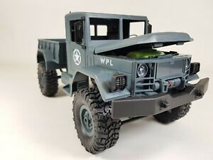 1:16 4WD Off-Road RC Military Truck Rock Army Car Climbing Vehicle Boys toys 4x4