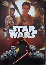 REWE Sammelalbum Star Wars 36 Karten komplett mit Glitzerkarten