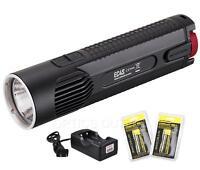NiteCore EC4S 2150 Lumen CREE XHP50 LED Flashlight w/ 2x18650 Batteries, Charger