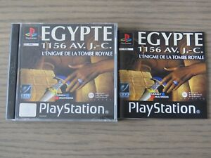 JEU PLAYSTATION PS1  EGYPTE  COMPLET EN  FRANCAIS