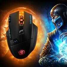Mpow DPI 4000 Wireless Optical Gaming Mouse Mice Dragon Slayer For Pro Gamer PC