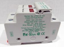 NOS Littelfuse Fuse Holder LPSC-ID  LPSC0002ZXID 2 Pole 600V 30A  (AC-DC)