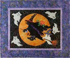 12 Months of Happy Beary Be-Witching Block 10 Oct McKenna Ryan Quilt Pattern