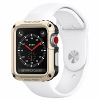 Rugged Armor Case For Apple Watch Series 3 2 1 & Built In Screen Protector 42mm